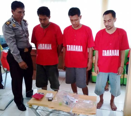 Polres kembali  Bekuk Komplotan Pengedar Narkoba di Jepara