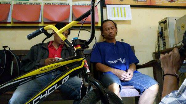 Curi Pakaian Tidak Tertangkap, Giliran Curi Sepeda Ditangkap Polisi