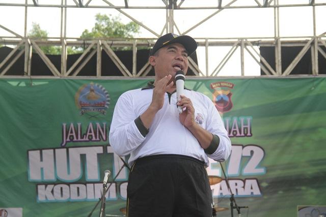 Bupati Jepara Mengapresiasi Kemanunggalan TNI
