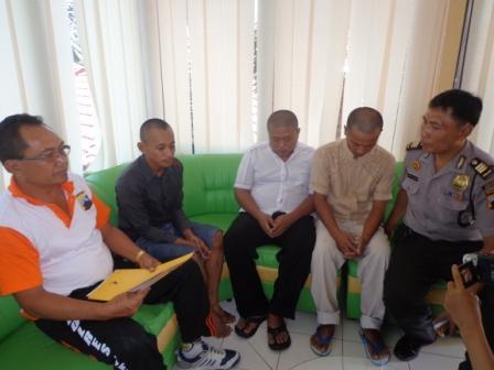Oprasi Anti Narkoba Tiga Orang Pemilik Ganja Diamankan