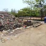 suasana TPA Bandengan yang semakin berkurang lahannya karena kapasitas sampah yang overload 2