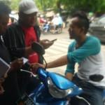 Warga Jakarta saat di temui tim dua