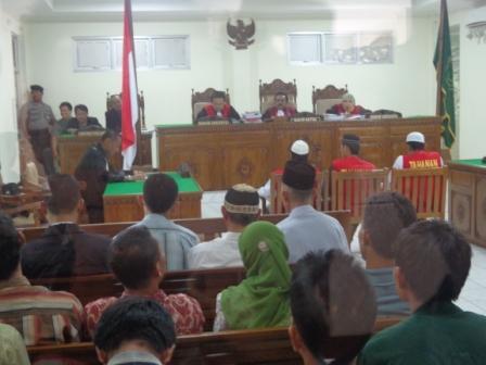 Pembunuh Suparno Di Tuntut 15 Tahun Penjara