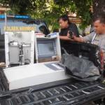 Mesin Anjungan Tunai Mandiri (ATM) BCA ,di temukan di Jepara.