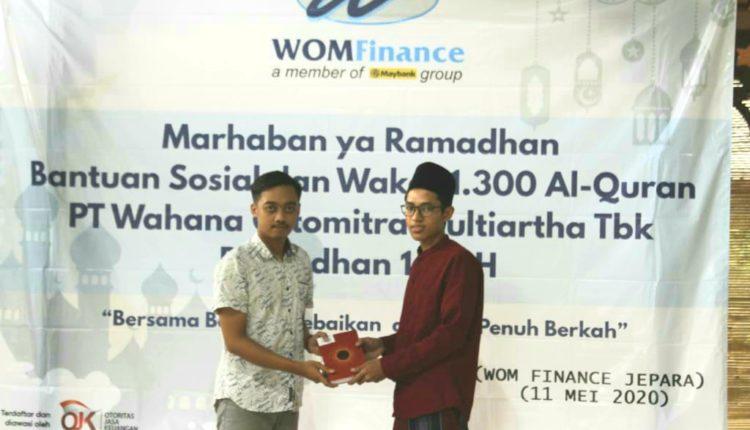 Ramadhan 1441 H, WOM Finance Bagikan Al-Quran ke Pondok Pesantren