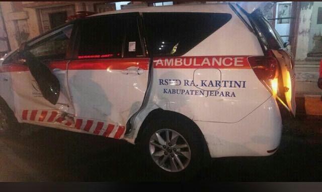 RSUD Kartini Jepara Bantah Ambulance Kecelakaan di Semarang Tidak Ada Perawat