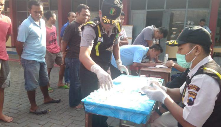 Ditresnarkoba Polda Jateng Razia Narkoba Di Rutan Jepara
