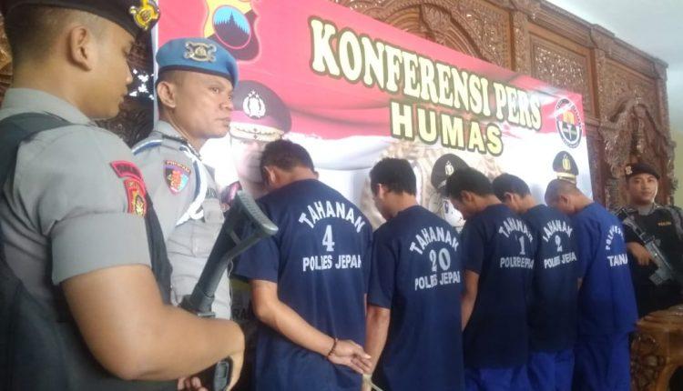 Kawanan Pencuri dan Penadah Motor di Jepara Diciduk Timsus Anti Bandit