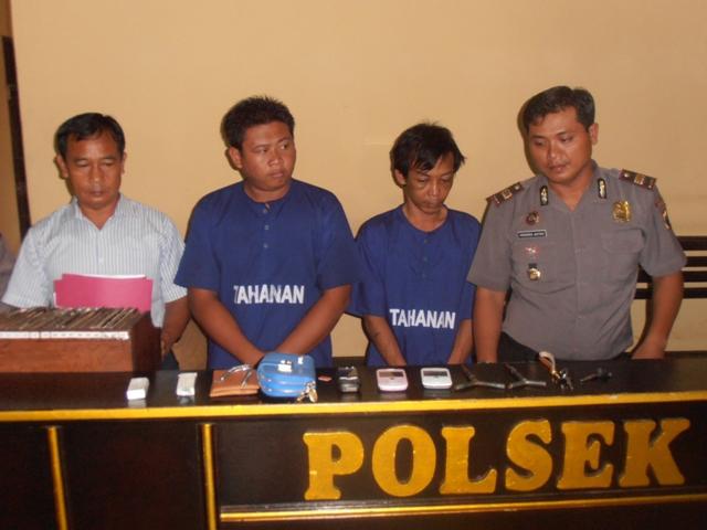 Pelaku Pencurian di 10 TKP di Jepara di Bekuk Polisi
