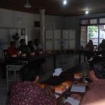 KPU Jepara Jalin silaturahim dan koordinasi dengan rohaniawan Jepara di RM Citra Jumat (28/03)kemarin.