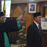 Sukarno dari PDI Perjuangan dilantik menggantikan kursi Dian Kristiandi di DPRD Kabuoaten Jepara