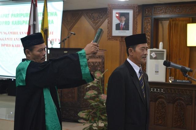 Sukarno Dilantik Gantikan Dian Kristiandi di DPRD Kab. Jepara