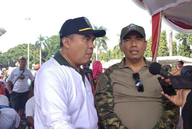 Ribuan Masyarakat Jepara Ikuti Jalan Sehat HUT TNI Ke-72