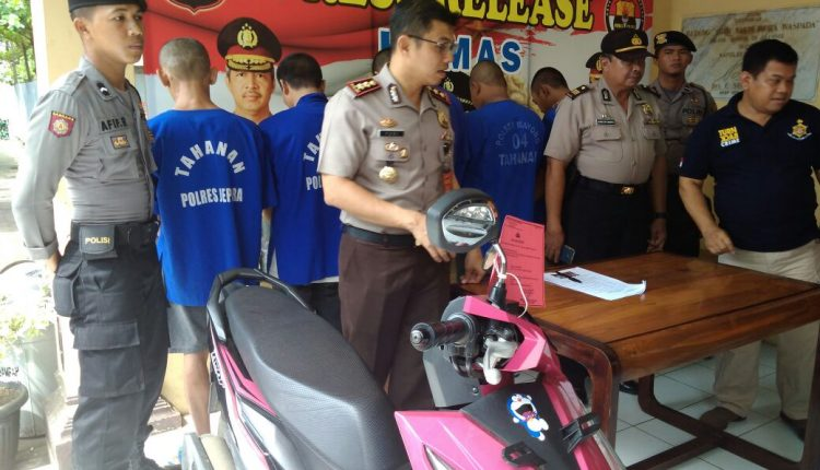 Sebanyak Sembilan Tersangka Terjaring Operasi Sikat Candi 2017