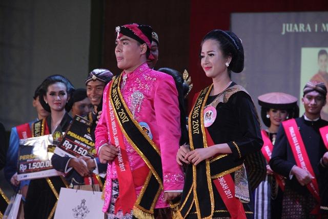 Mas Semarang dan Mbak Tegal Terpilih Menjadi Mas & Mbak Jateng 2017
