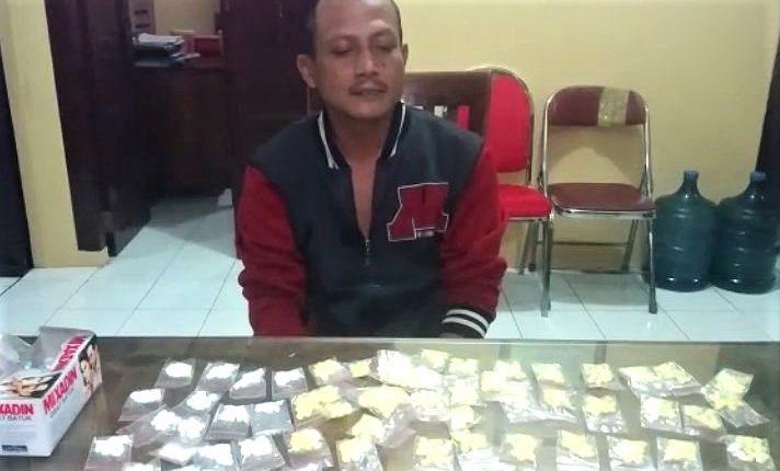 Warga Keling Pengedar Pil Dextro di Jepara Akhirnya Dibekuk Polisi