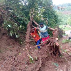 Tebing Longsor di Desa Jehan Kunir Kecamatan Keling Jepara