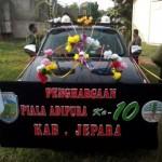 Piala Adipura di arak keliling Jepara kemarin