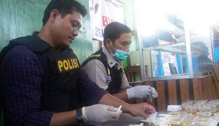 Polisi Lakukan Tes Urin Terhadap Puluhan Supir Bus di Jepara