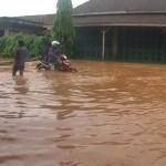 Banjir kembali melanda Desa Tegalsambi Jepara Kamis (12/12)