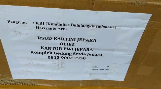 [Video] Hari Kartini, KBI dan PWI Jepara Sinergi Bantu APD Tenaga Medis RSUD Kartini
