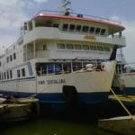 Kapal KMP Siginjai tak tak beroprasi karena cuaca buruk